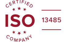 ISO 13485:2016 certified label converter